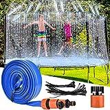 Trampoline Sprinkler for Kids , LETIGO 39ft Upgraded Outdoor Trampoline Water Sprinklers...