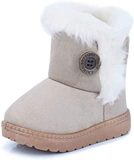 Gaatpot Stivali da Neve Ragazzi Ragazze Scarpe Stivaletti Invernali con Imbottitura Calda Unisex – Bambini 20-35