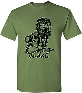 Lion of Judah - Mens Cotton T-Shirt