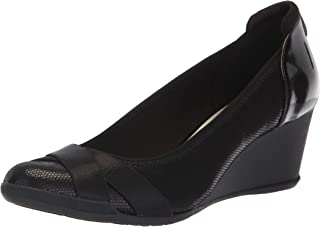Anne Klein Women's Timeout Wedge Heel Pump