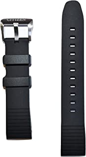 Promaster Altichron Black Rubber Band Strap for CITIZEN BN5030-06E or BN4020-05E