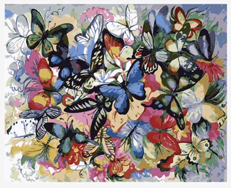 Malen Nach Zahlen Diy Viele Viele Viele Arten Schmetterling Fuumlr
