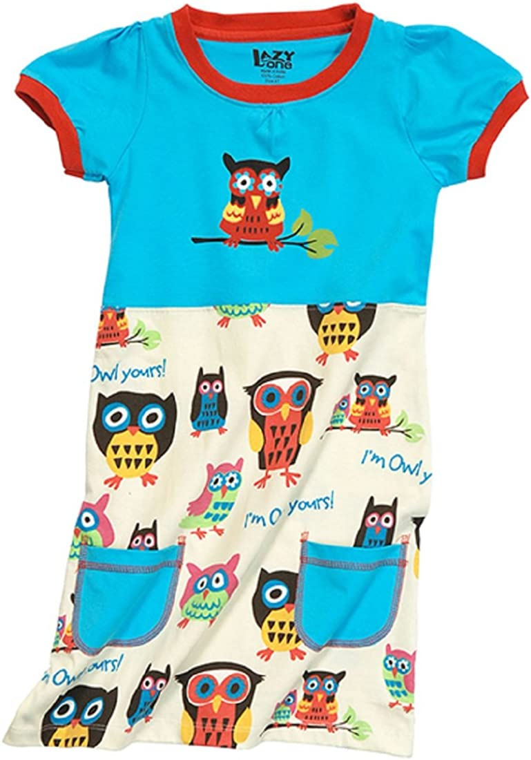 Owl Yours Little Girls' Tee Dress