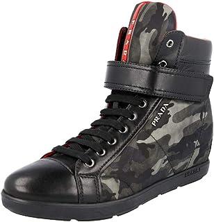 Prada Women's 3TZ052 Leather Sneaker
