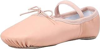 Linodes Leather Ballet Shoes/Ballet Slippers/Dance Shoes (Toddler/Little/Big Kid/Women)