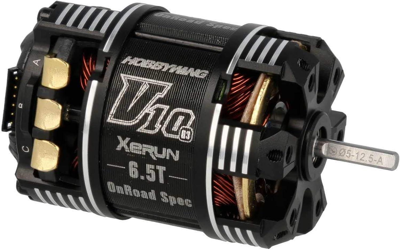 HobbyWing Xerun V10 Brushless Motor G3 6300kV (1s) 6.5T SensGoldt für 1