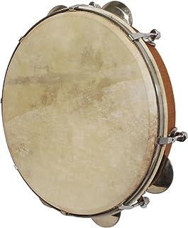 "10"" Tunable Pandeiro Drum w/ Jingles - Red Cedar"