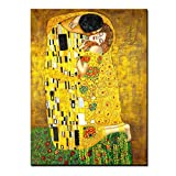 Wall Art for Home Decor the Kiss Gustav Klimt...
