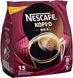 Nescafe Kopi O Instant Coffee, 15 x 14g