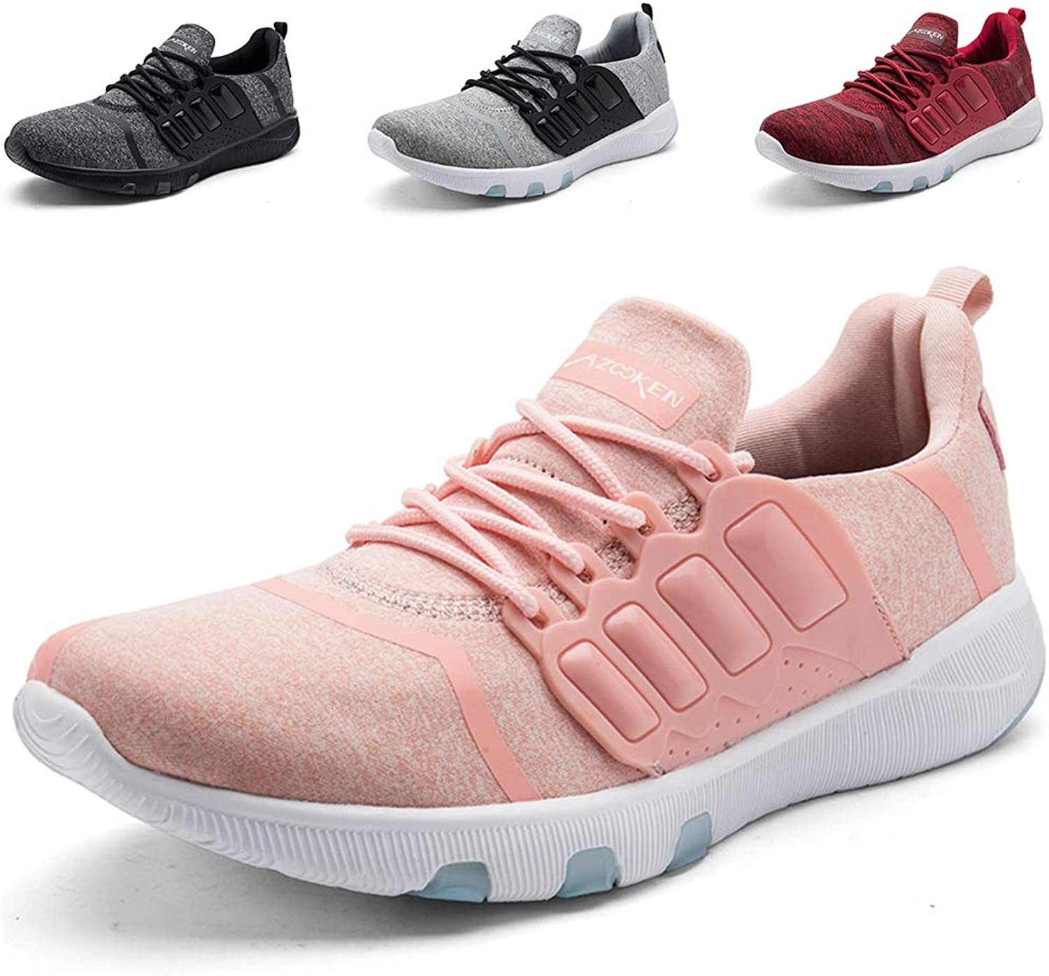 TORISKY Mens Womens Trainers shoes Cushion Lightweight Sport Gym Running shoes Competition Athletic Sneakers