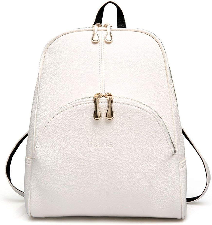 Willsego Frauen Frauen Frauen Rucksack Handtaschen Schultertasche Schulrucksack Daypack Laptop-Tasche PU-Leder (Farbe   Off-Weiß) B07L9SJQ1F  Neueste Technologie 2d7c39