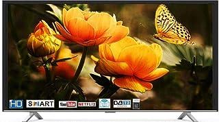 HITACHI 43 inch Full HD Smart LED TV with Netflix - Youtube & USB Direct Play - LD43HTS01F-CO, Black