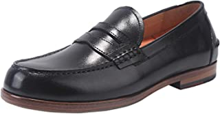 Men's Handcrafted Leather Sole Dress Loafers Shoes