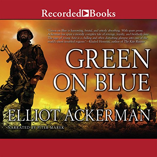 Green on Blue audiobook cover art