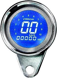 12V Motorcycle LCD Multi-Function Meter Tachometer+ Speedometer+Fuel Gauge V Motorcycle LCD Digital Multi-Function Meter