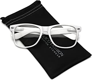 mens white glasses