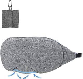 IWILCS, occhiali da notte da uomo e da donna, maschera per gli occhi, maschera per dormire 3D, per viaggi e pisolini, bend...