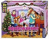 Die drei !!! - Adventskalender - 24 spannende Rätsel auf dem weihnachtlichen Reiterhof - 2017