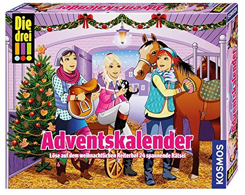 KOSMOS 631376 - Die drei !!! Adventskalender 2017