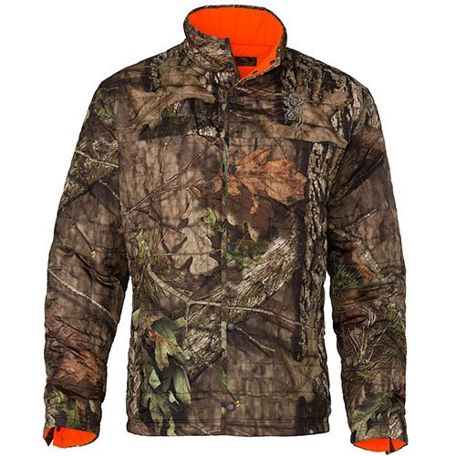 Browning 3048612804 Quick Change-Wd Insulated Jacket, Mossy Oak Break-Up Country/Blaze, X-Large