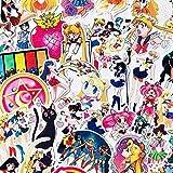 FNM Graffiti-Aufkleber 25/75 STK. Exquisite selbstgemachte Guardian Sailor Moon Girl Scrapbooking...