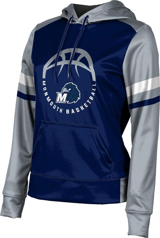 ProSphere Monmouth University Basketball Girls' Pullover Hoodie, School Spirit Sweatshirt (Old School)