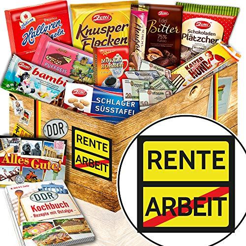 Rente - DDR Box - Rente Ruhestand