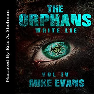 White Lie audiobook cover art