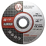 25 Pack - 4-1/2' x .040' x 7/8' Type 1 Aluminum Cutting Wheels (25 Pack)