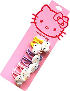 83464f8b2 NoMo Kou Hello Kitty Children's Hair Clips (three pairs) (Design and color)