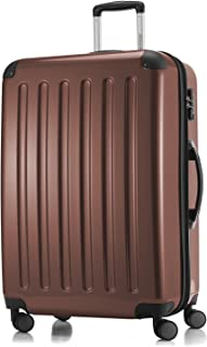 "Hauptstadtkoffer Alex Luggage Suitcase Hardside Spinner Trolley Expandable 28"" TSA, Brown, 75 Centimeters"