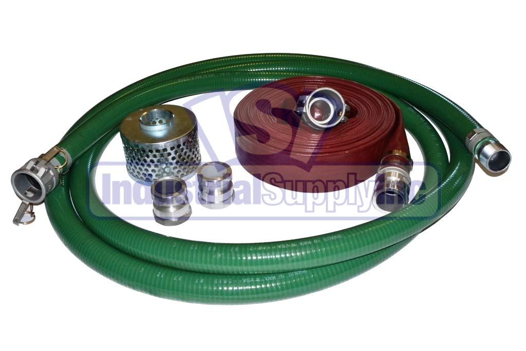 PVC Green Standard Suction Hose - 50 Conventional 20' Ranking TOP3 Kit Lowest price challenge x 2