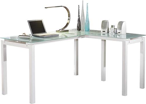 "Signature Design by Ashley Baraga 61"" L-Shaped Home Office Desk"