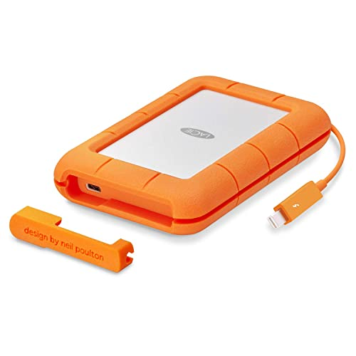 LaCie Rugged Thunderbolt USB-C 1To SSD, disque SSD externe mobile - STFS500400