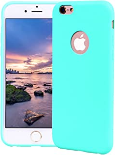 86ce95e3e6e Funda iPhone 6 Plus, Carcasa iPhone 6S Plus Silicona Gel, OUJD Mate Case  Ultra
