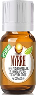 Myrrh Essential Oil - 100% Pure in Jojoba (30%/70% Ratio) Best Therapeutic Grade - 10ml
