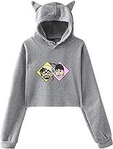 Hoodie Sportswear Girls Hipster Cat- Ear Hoodie Sweater Women Long Sleeve Pullover