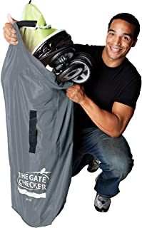 Nuby Double Stroller gate Checker Bag