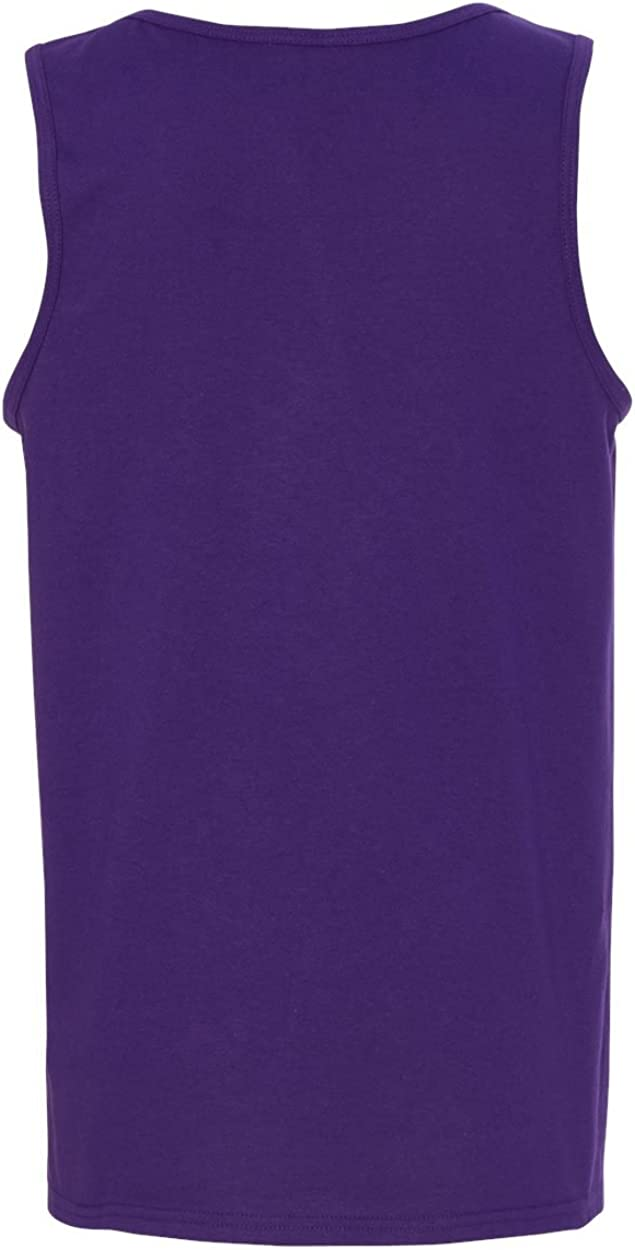 Heavy Cotton Tank Top (G520) Purple, XS (Pack of 12)
