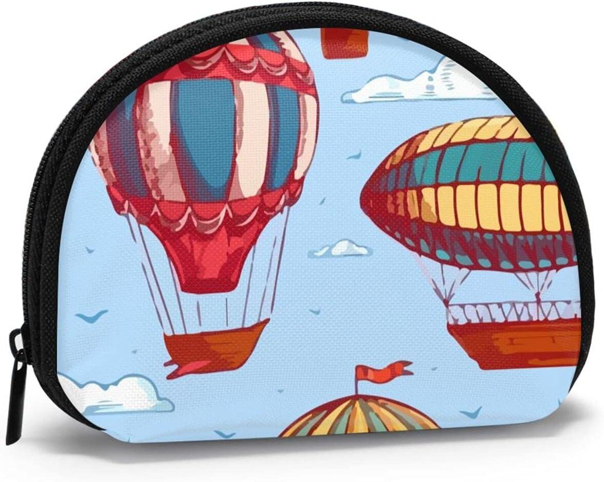 Women Change Coin Purse Comic Brand new Hot Balloon Shell Storage Air Girl Manufacturer OFFicial shop
