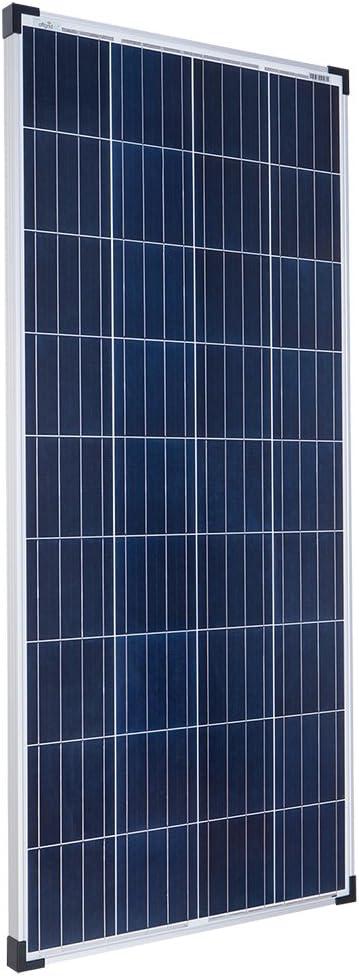 Offgridtec - Panel solar para caravana (160 W, 12 V, policristal)