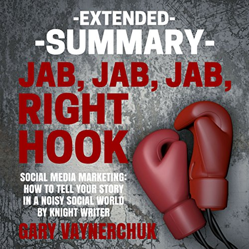Extended Summary of Jab, Jab, Jab, Right Hook by Gary Vaynerchuk audiobook cover art