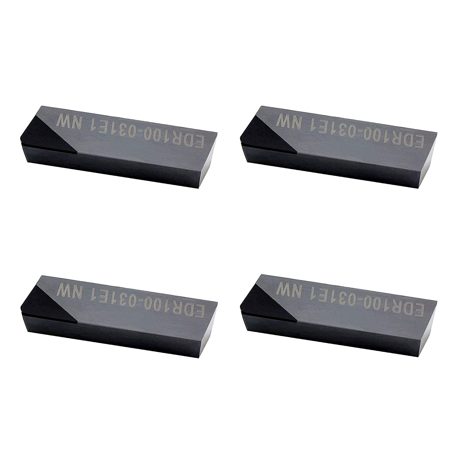 MAXTOOL 4PCs EDR100-031-E1-NW PCD Super Special SALE held Tip DOV-LOK Sale Milling Inserts Po