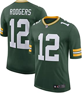 Mitchell & Ness Men's Aaron Rodgers #12 Green Bay Packers Limited Player Green Jersey
