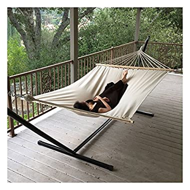 New New Outdoor Swing Chair Hanging Camping Cotton Double Bed Patio Canvas Hammock
