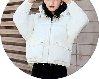 Show-Show-Fashion&coats Hooded Cotton Padded Winter Jacket Women Oversize Warm New Womens Coat Short Parka Ou