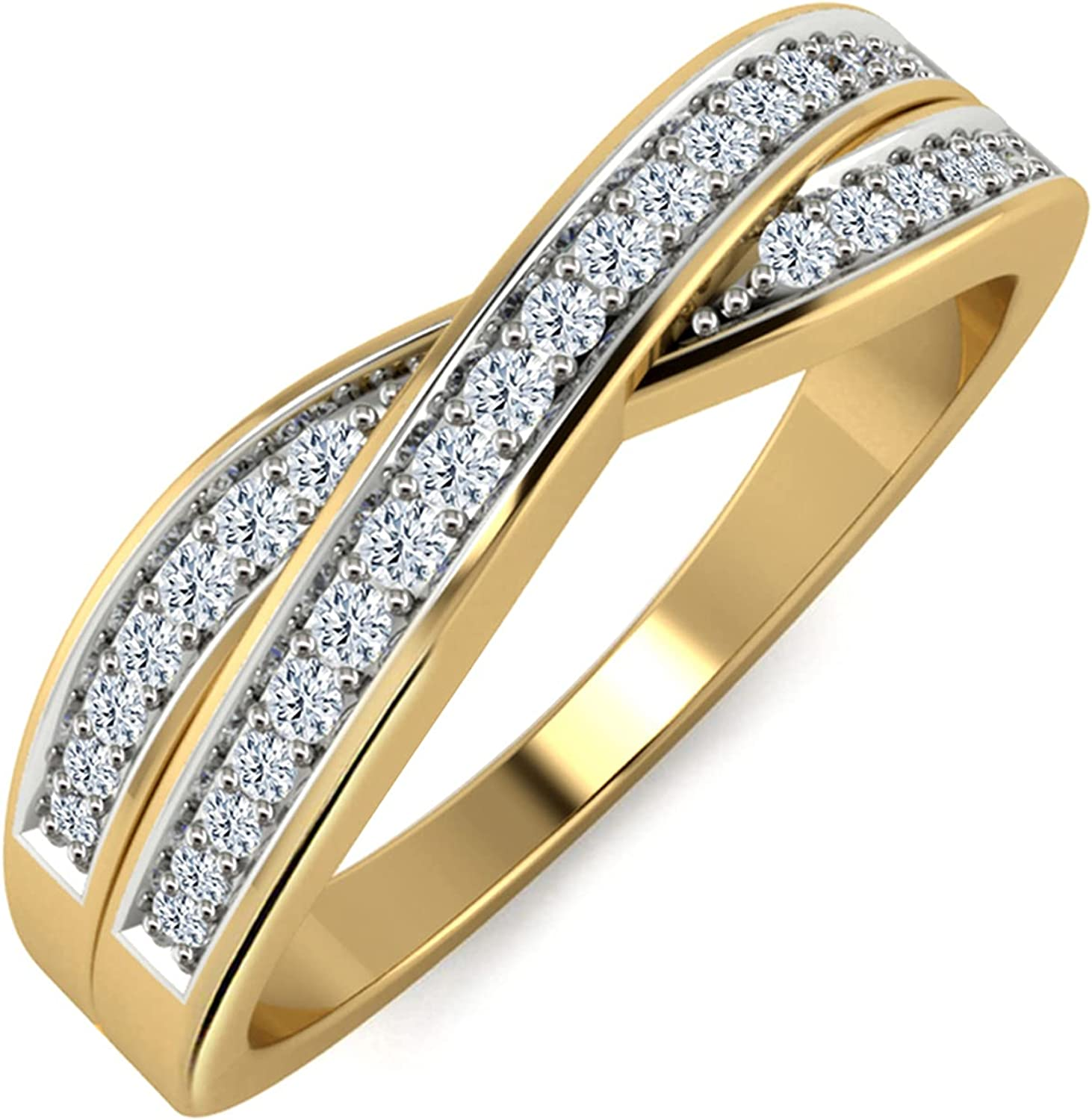 Natural Diamond Wedding Band IGI Certified Round 0.13 Year-end annual account cttw 1 Denver Mall Cut