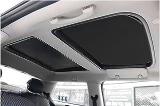 Yu Motor 2pcs Foldable Sunroof Shade Sunshade Heat Isolate M