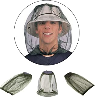 Hinmay léger Mosquito Head Net Chapeau protection pour