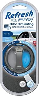 Refresh Your Car! E300865304 Dual Scent Diffuser, New Car/Cool Breeze